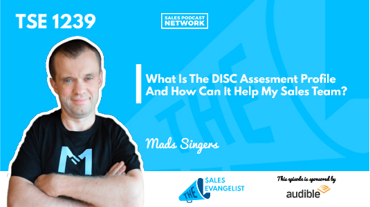 Mads Singers, DISC Assessment Profile