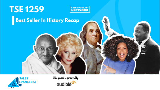 Best Sellers in History Recap