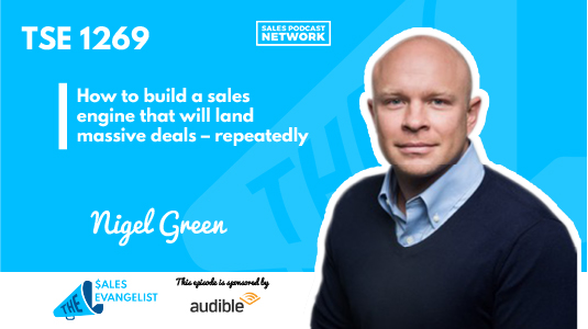 Nigel Green on Video Sales