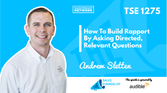 Building Rapport with Andrew Sletten