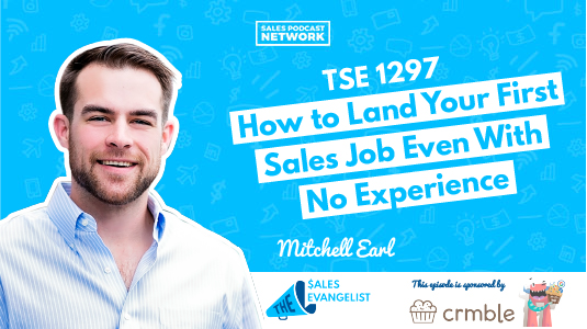Land your first sales job