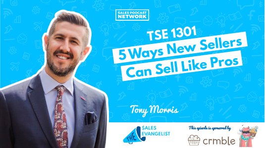 New Sellers sell like a pro