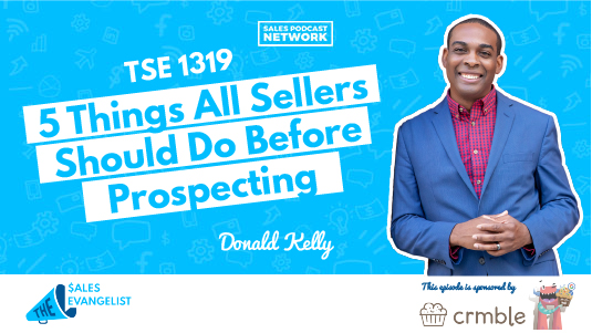 What to do before prospecting