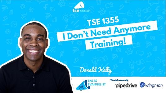 I don't need training