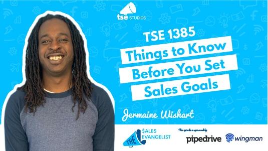 Jermaine Wishart, Sales Goals