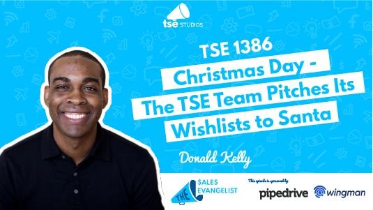 Donald Kelly, TSE Team, Holiday Espiode