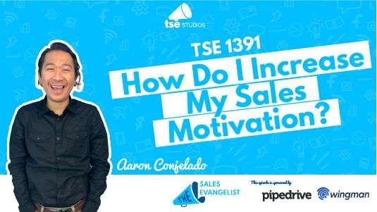 Sales Motivation, Aaron Conjelado