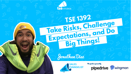 Jonathan Diaz, Motivation, Taking Risks
