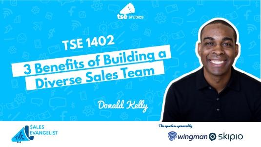 Donald Kelly, Diverse Sales Teamm