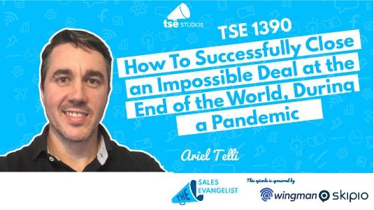 Ariel Telli, Close impossible deals