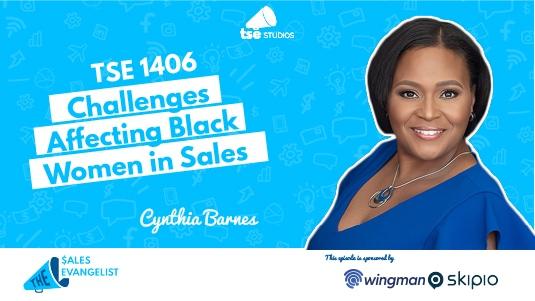 Clack women in sales, Cynthia Barnes