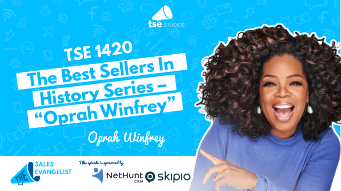 Oprah Winfrey, Best Sellers in History